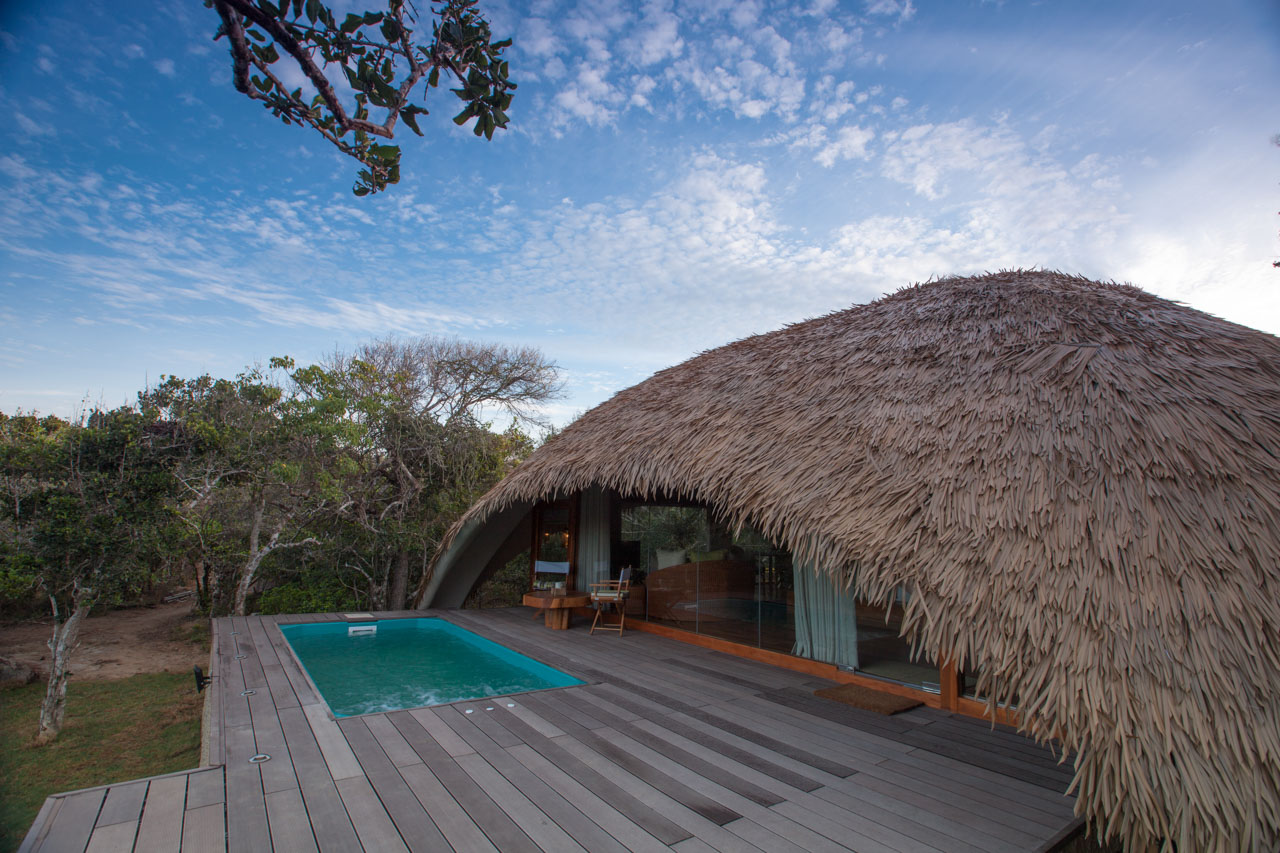 Cabin Exterior and Plunge Pool
